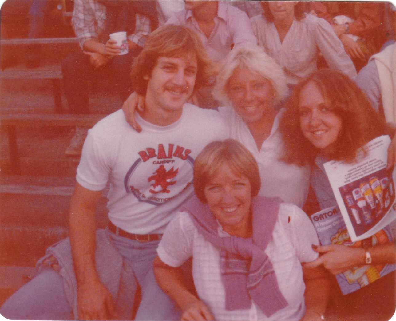 Ric, Bev, Marilyn & at Gators' Game